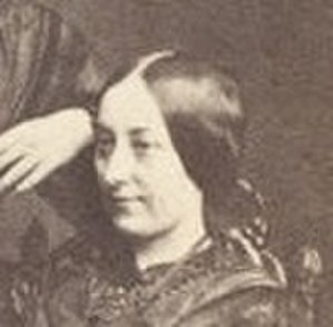 Frances Eleanor Trollope - Frances Eleanor Trollope - crop of a carte d visite