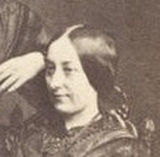 Frances Eleanor Trollope - Frances Eleanor Trollope - crop of a carte d visite