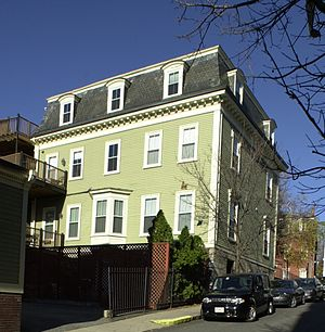 Francis B. Austin House - Image: Francis B. Austin House Boston MA 02