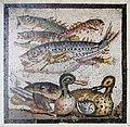 Frangment of an Ancient Roman Mosaic now at Chateau de Chantilly (13040996565).jpg