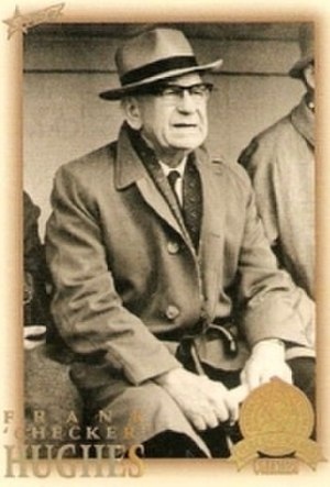 Frank 'Checker' Hughes - Image: Frank 'Checker' Hughes (before 1948)