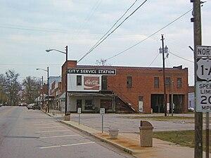 Franklinton, North Carolina - Downtown Franklinton