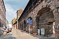 Frauentormauer 17, 19, Mauerturm Rotes B, C Nürnberg 20180723 001.jpg