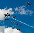Frecce Tricolori NL Air Force Days (9291483548).jpg