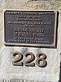 Frederick J. Osterling office plaque.jpg