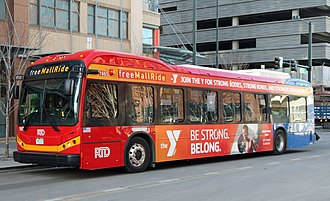 RTD Bus & Rail - RTD's three modes of public transit