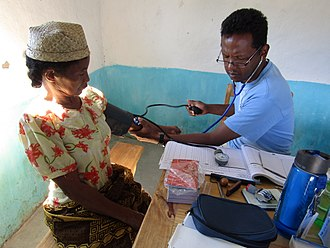 General practitioner - Consultation with a mobile health team doctor in Madagascar