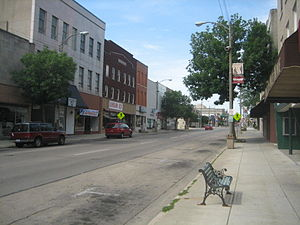 Freeport, Illinois - Buildings in downtown Freeport, Illinois