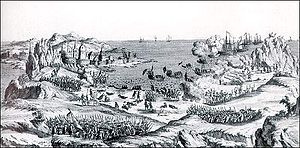 French attack St. John's Newfoundland 1762.jpg