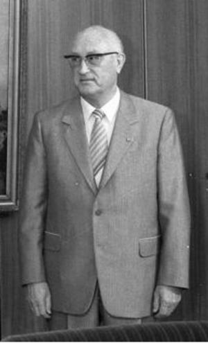 Friedrich Dickel - Image: Friedrich Dickel 1983