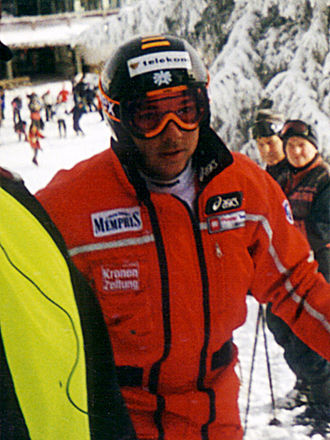 Fritz Strobl - Image: Fritz Strobl Kitzbuehel 2000