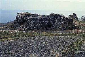 Store Færder Lighthouse - Ruins of the old Store Færder lighthouse