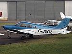 G-BSOZ Piper Cherokee Warrior 28 Pactum Company Ltd (34163878025).jpg