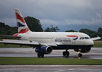 G-EUPR - A319 - British Airways