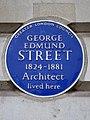 GEORGE EDMUND STREET 1824-1881 Architect lived here.jpg