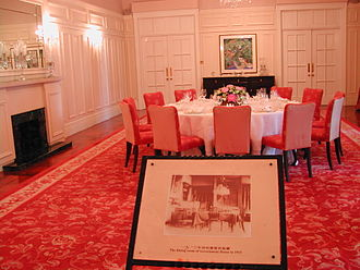 Government House, Hong Kong - Dining room