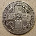 GREAT BRITAIN, VICTORIA 1875 -GOTHIC FLORIN a - Flickr - woody1778a.jpg