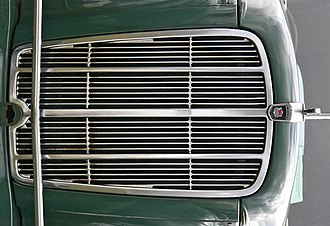 Morris Six MS - Image: G Morris Six Series MS grille