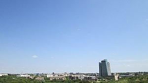 Gaborone skyline
