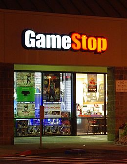 GameStop night - Hillsboro, Oregon.JPG