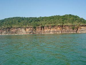 Gandhi Sagar Dam - Gandhi Sagar Reservoir in 2009.