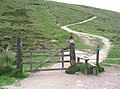 Gate and stile, Scald law - geograph.org.uk - 193130.jpg
