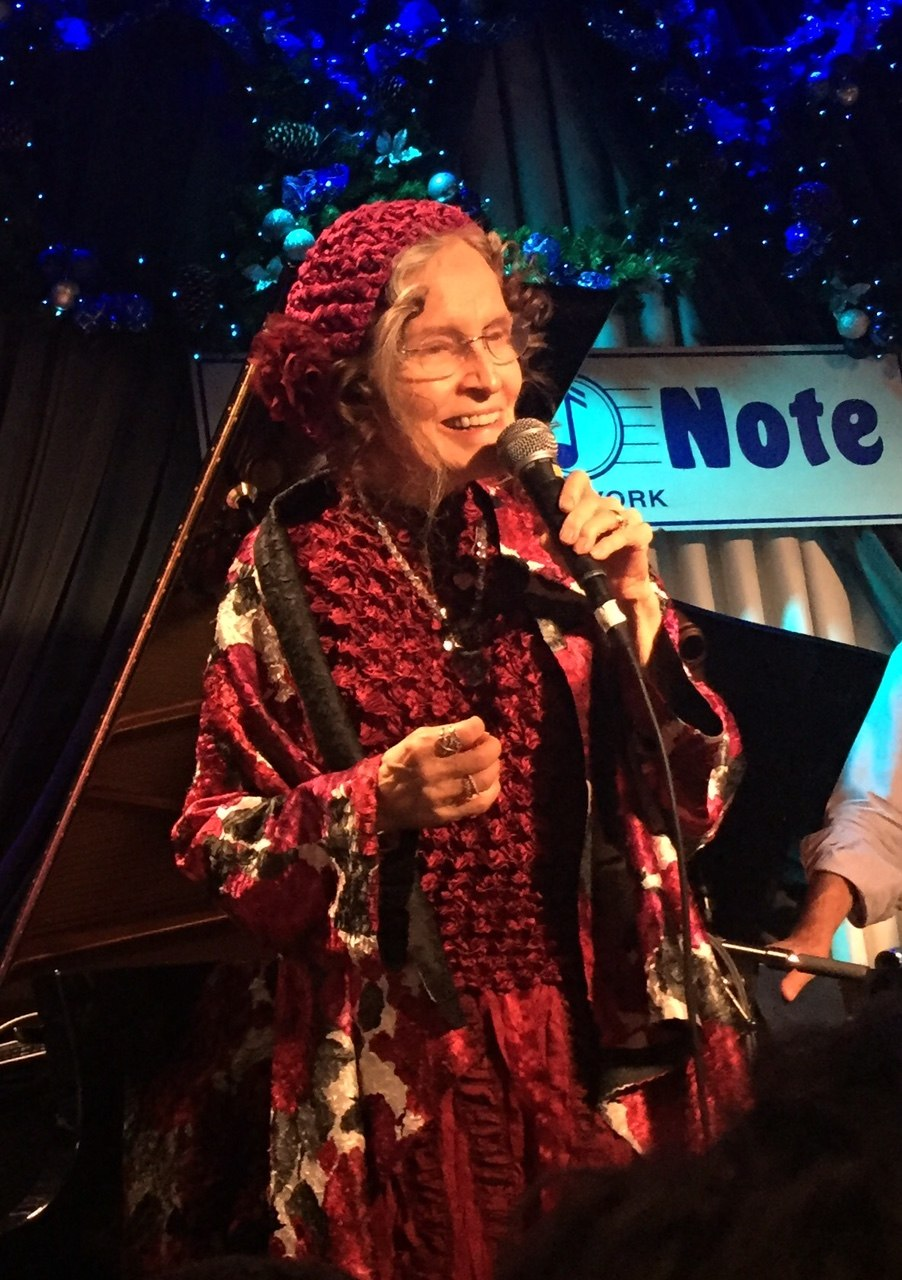 Gayle Moran, Blue Note Jazz Club, New York City, December 2016