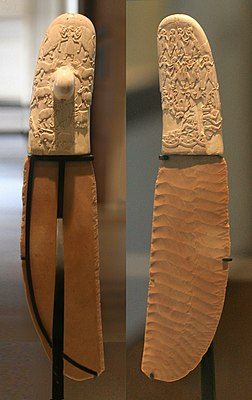 Gebel el-Arak knife (front and back).jpg