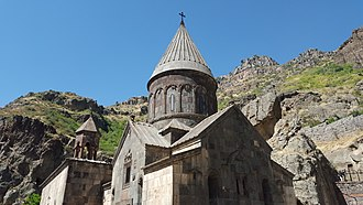 Armenian architecture - The monastery of Geghard, 13th century