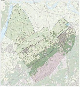 Oldebroek - Image: Gem Oldebroek Open Topo