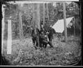 Gen. Winfield S. Hancock and Generals Francis C. Barlow, David B. Birney, John Gibbon. - NARA - 524439.tif