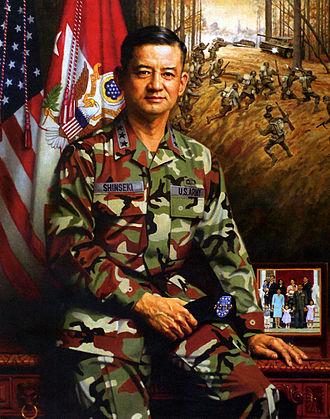 Eric Shinseki - A 2003 portrait of Shinseki
