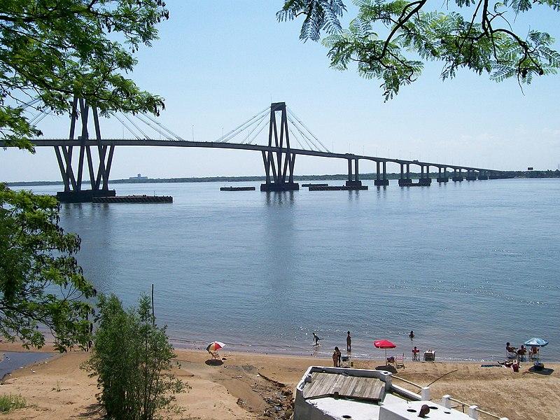 File:General Belgrano Bridge and Corrientes beach.jpg