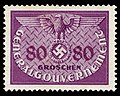 Generalgouvernement 1940 D12 Dienstmarke.jpg