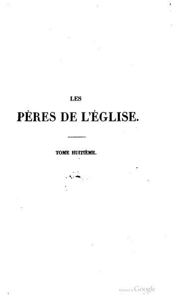 File:Genoude - Les Pères de l'Eglise, vol. 8.djvu