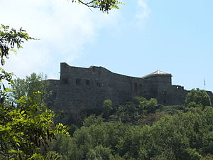 Genova-Forte Santa Tecla-frontale