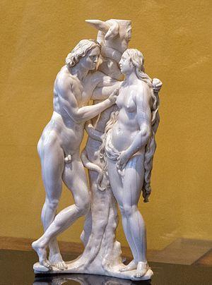 Georg Petel - Adam and Eve at the Rubenshuis, Antwerp