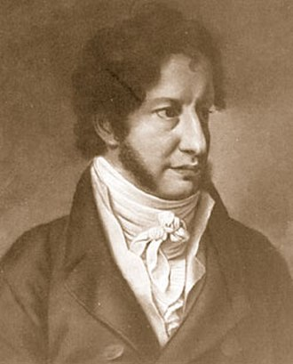 Georg Sverdrup - Portrait of Georg Sverdrup by Christian Horneman, 1813