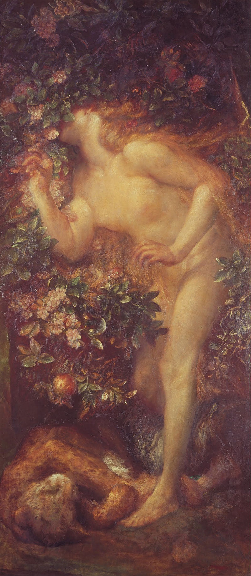 George Frederic Watts - Eve Tempted - Google Art Project.jpg
