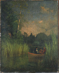Dusk in the Rushes (Alexandria Bay)