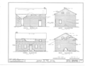 George K. Gay House, Hopewell, Yamhill County, OR HABS ORE,36-HOP.V,1- (sheet 4 of 7).png