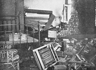 George Labram - George Labram's room in the Grand Hotel, Kimberley in which he was killed by a Boer shell