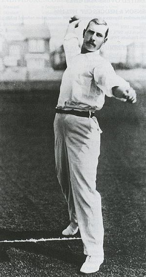 Wisden Cricketers of the Year - George Lohmann an inaugural nominee, 1889