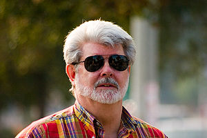 A portrait of George Lucas, Pasadena, Californ...