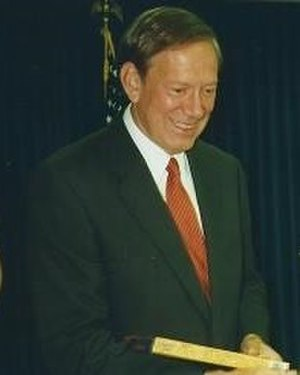New York gubernatorial election, 1994 - Image: George Pataki NYC 2000