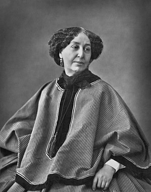 George Sand - Sand, as photographed in 1864 by Nadar