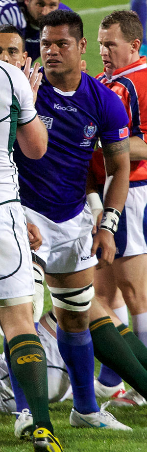 George Stowers - South Africa vs Samoa at 2011 Rugby World Cup