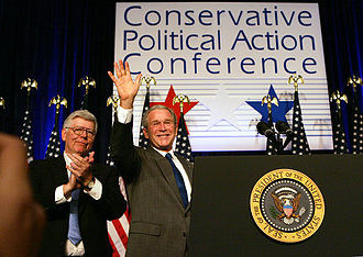 Conservative Political Action Conference - President George W. Bush speaking at the 2008 CPAC