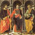 Ghirlandaio, Santo Stefano tra i santi Jacopo e Pietro, accademia.jpg