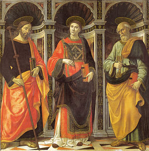 Saints Stephen, James, and Peter